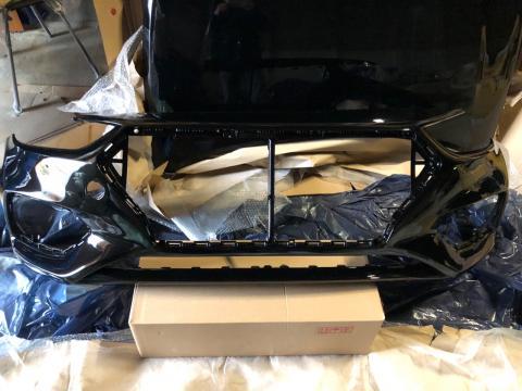 Бампер Hyundai Solaris(17-) передний Черный MZH купить в Санкт-Петербурге цена