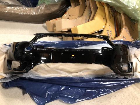 Бампер Ford Focus 3(15-) передний Черный Schadow Black G1/G9ZE/7343 купить в Санкт-Петербурге цена